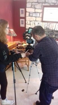Ello Dave Media, ready to film!